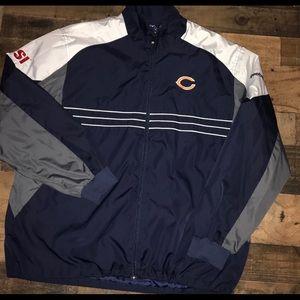 NFL Reebok Chicago bears windbreaker XL